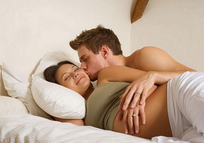 При беременности интимная жизнь