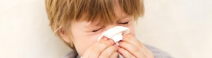 аллергия летняя забит нос