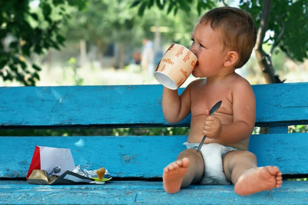 Чаепитие для ребенка