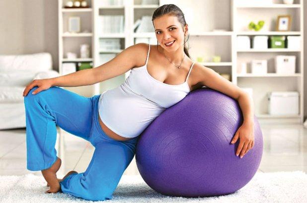 Зарядка для беременных женщин