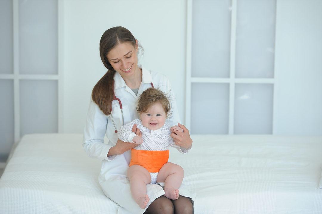 Пояс от колик для новорожденных